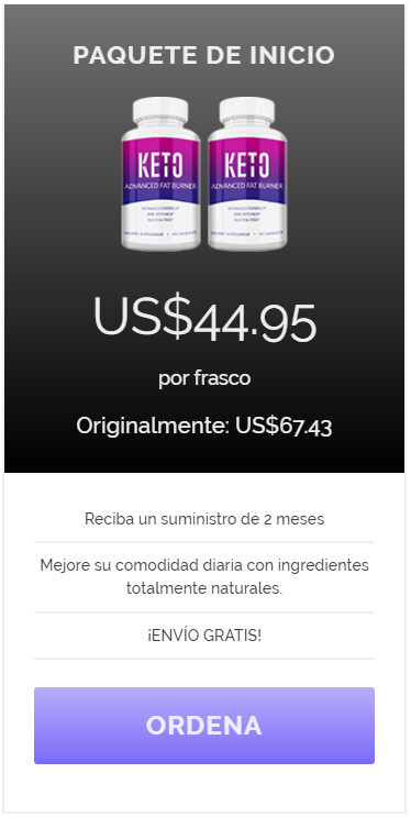Keto Advanced Diet - Compra Ahora! - Reciba un suministro de 2 meses